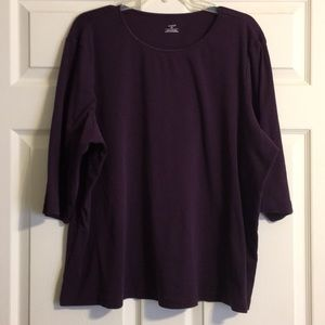 Craft and Barrow women's plus size top